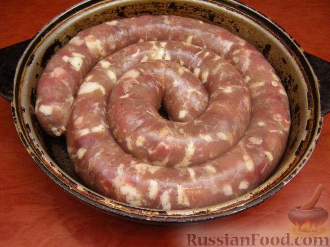 рецепт приготовления колбасы украинской