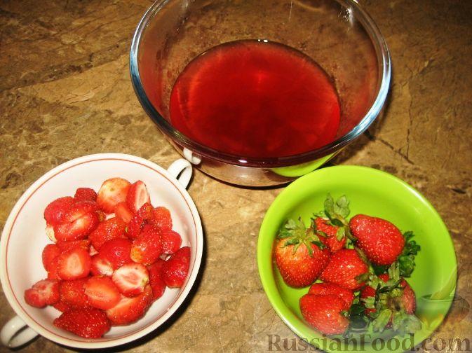 Фото приготовления рецепта: Клубничный десерт - шаг №1