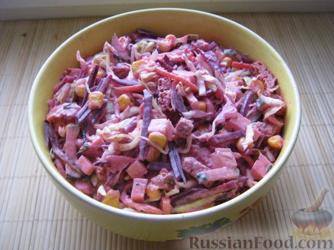 Рецепт Салат «Овощное ассорти»