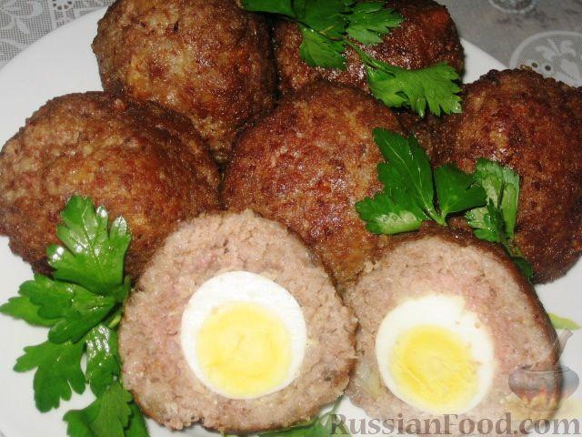 Рецепт Шотландские яйца