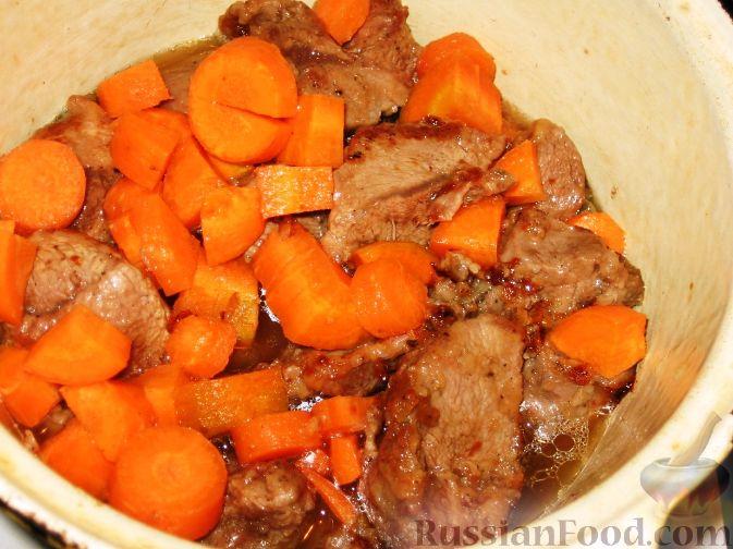 Мясо по-французски без сыра - пошаговый рецепт с фото на ...