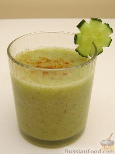 Рецепт Смузи овощной (разгрузочная диета)