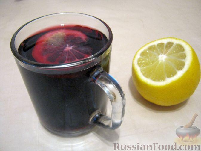 Рецепт Глинтвейн с лимоном