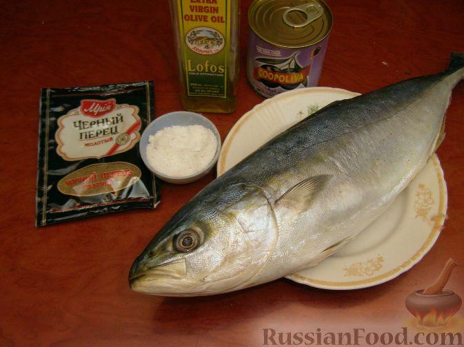 как приготовить тунец в духовке с овощами