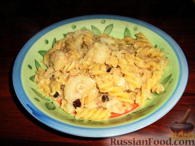 Рецепт Паста с цветной капустой и тунцом