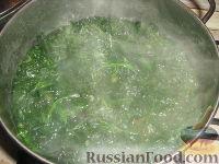 Фото приготовления рецепта: Шпинат - шаг №1
