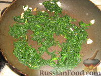 Фото приготовления рецепта: Шпинат - шаг №4