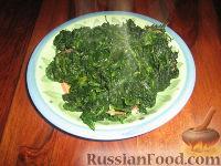 Фото приготовления рецепта: Шпинат - шаг №6
