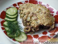 Фото к рецепту: Куриная печень, запеченная под сметанным соусом