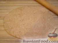 Фото приготовления рецепта: Бездрожжевой хлеб - шаг №5