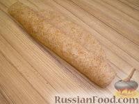 Фото приготовления рецепта: Бездрожжевой хлеб - шаг №6