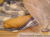 Фото приготовления рецепта: Бездрожжевой хлеб - шаг №8