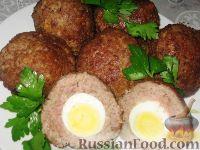 Фото к рецепту: Шотландские яйца
