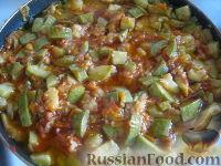 Фото приготовления рецепта: Кабачки тушеные - шаг №7