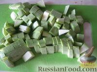Фото приготовления рецепта: Кабачки тушеные - шаг №2