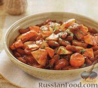 Фото к рецепту: Овощное рагу с фасолью