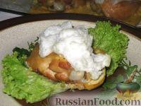 """Фото к рецепту: Курица """"под снегом"""""""