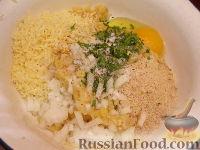 Фото приготовления рецепта: Гороховые фрикадельки во фритюре - шаг №4