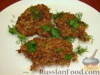 Фото к рецепту: Отбивные котлеты в орехово-сырной панировке