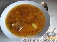 Фото к рецепту: Суп харчо с картофелем