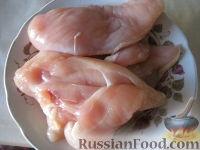 """Фото приготовления рецепта: """"Бефстроганов"""" из куриной грудки - шаг №2"""