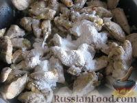 """Фото приготовления рецепта: """"Бефстроганов"""" из куриной грудки - шаг №8"""