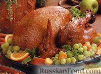 Фото к рецепту: Индейка, жаренная на гриле