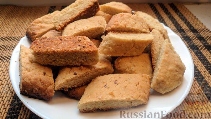 Фото к рецепту: Овсяное печенье «Мокрый песок»