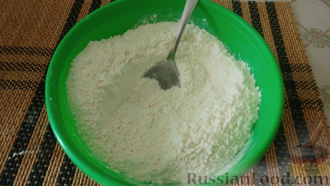 Фото приготовления рецепта: Овсяное печенье «Мокрый песок» - шаг №3