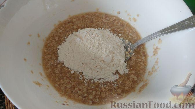 Фото приготовления рецепта: Овсяное печенье «Мокрый песок» - шаг №7