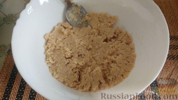 Фото приготовления рецепта: Овсяное печенье «Мокрый песок» - шаг №9