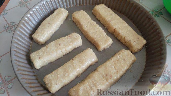 Фото приготовления рецепта: Овсяное печенье «Мокрый песок» - шаг №10