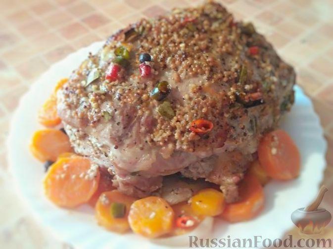 Фото приготовления рецепта: Буженина из свиной шеи - шаг №8