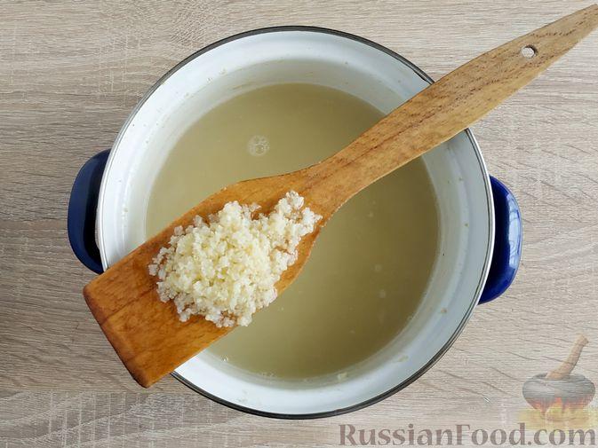 Фото приготовления рецепта: Кулеш с салом и овощами - шаг №15