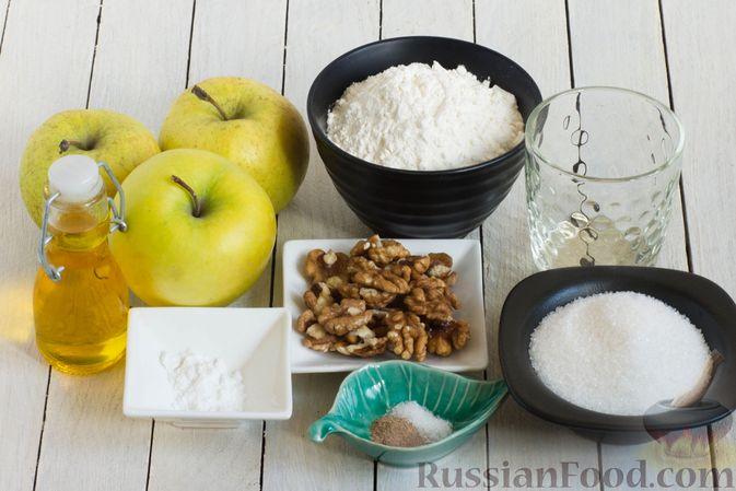 Фото приготовления рецепта: Постный яблочный пирог-перевёртыш - шаг №1