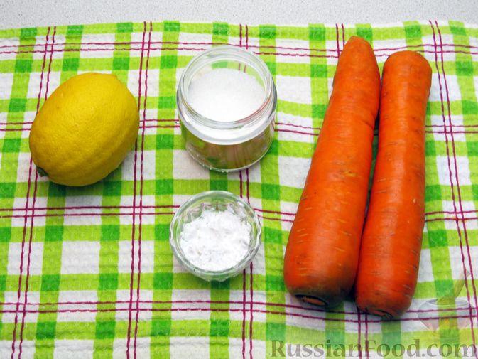 Фото приготовления рецепта: Морковный кисель с лимоном - шаг №1