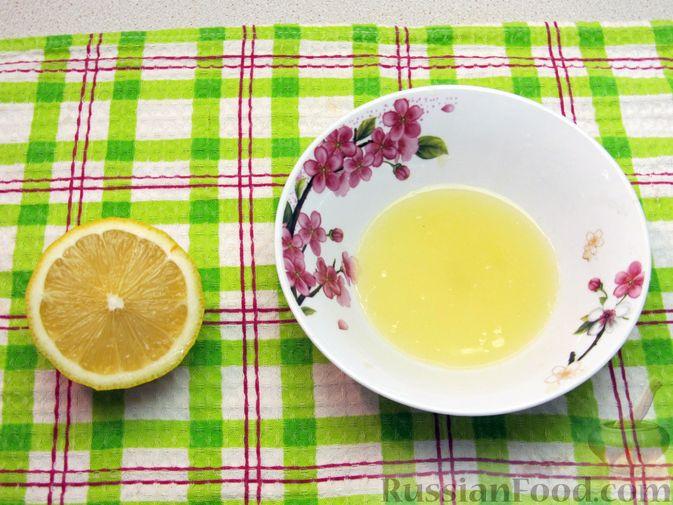 Фото приготовления рецепта: Морковный кисель с лимоном - шаг №3
