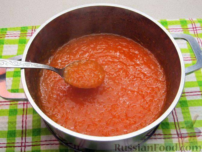 Фото приготовления рецепта: Морковный кисель с лимоном - шаг №8