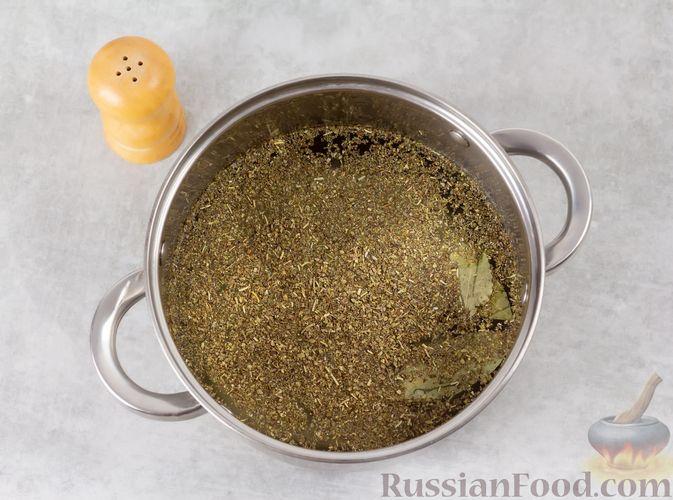Фото приготовления рецепта: Свиная грудинка, запечённая в фольге, в медовой глазури - шаг №2