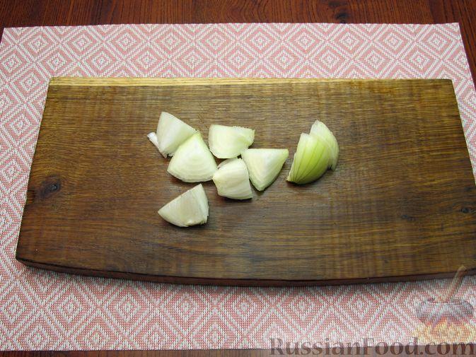 Фото приготовления рецепта: Куриные котлеты, запечённые в духовке - шаг №3
