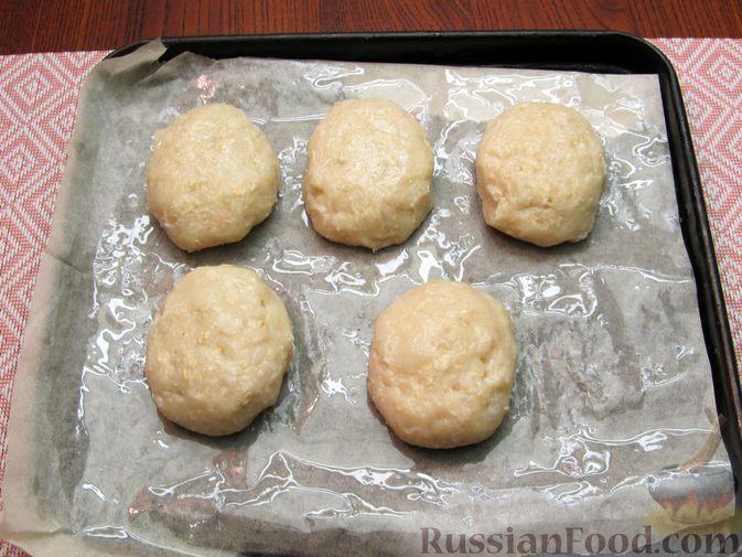 Фото приготовления рецепта: Куриные котлеты, запечённые в духовке - шаг №10