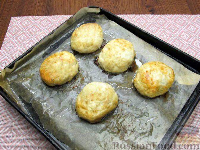 Фото приготовления рецепта: Куриные котлеты, запечённые в духовке - шаг №11