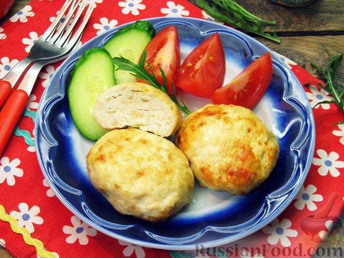 Фото приготовления рецепта: Куриные котлеты, запечённые в духовке - шаг №12