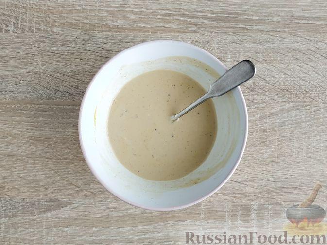 Фото приготовления рецепта: Куриное филе, запечённое с кабачком, в соево-сметанном соусе - шаг №8