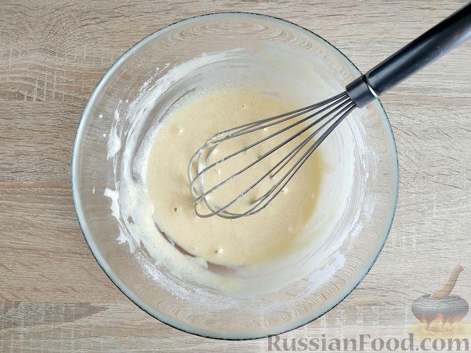 Фото приготовления рецепта: Кабачковые маффины с цедрой лимона - шаг №4
