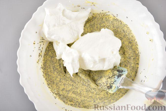 Фото приготовления рецепта: Сдобный бездрожжевой пирог с маком - шаг №10