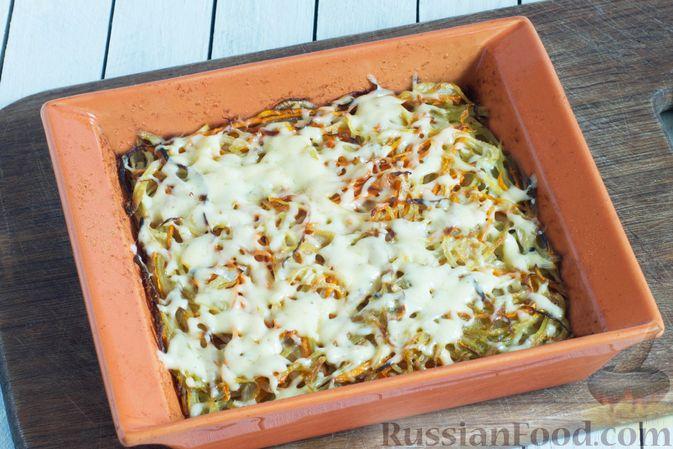 Фото приготовления рецепта: Картофельно-морковная запеканка - шаг №7