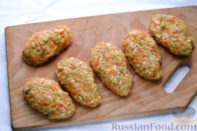 Фото приготовления рецепта: Ленивые голубцы с чечевицей (в духовке) - шаг №12