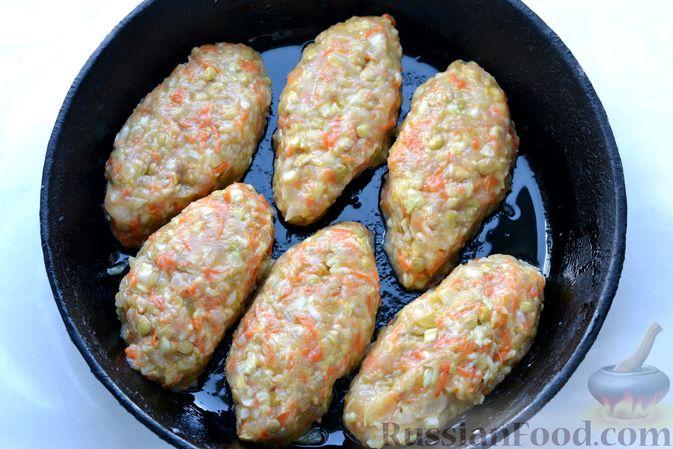 Фото приготовления рецепта: Ленивые голубцы с чечевицей (в духовке) - шаг №13