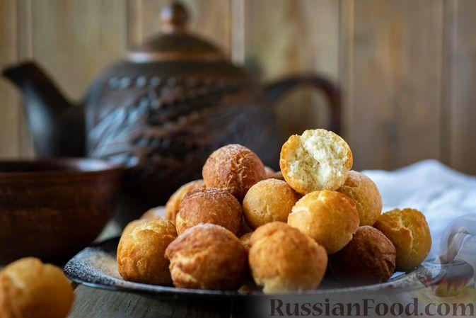 Фото приготовления рецепта: Конфеты из печенья, с финиками и грецкими орехами - шаг №8